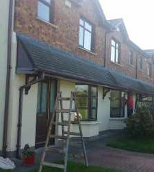 Painting exterior of house – Sallins, Co.Kildare