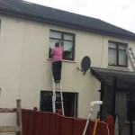 Paint exterior of house, Sallins, Co Kildare