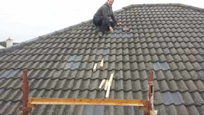 Roof repair in Athy, Co.Kildare