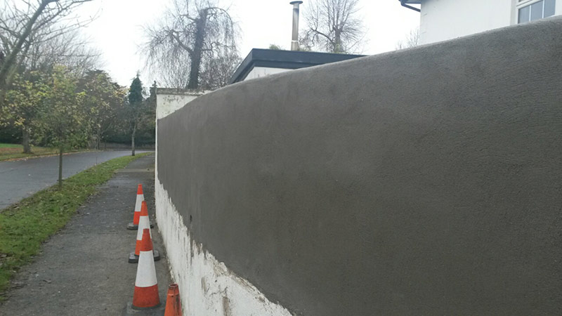 Block Wall Repair – Naas