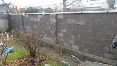 New Garden Wall – Naas, Co.Kildare